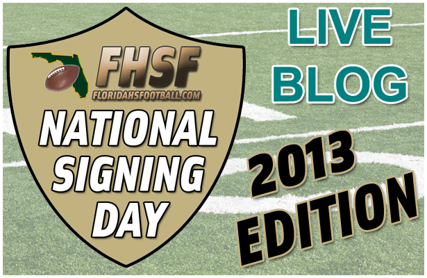 LIVE BLOG: 2013 National Signing Day Coverage