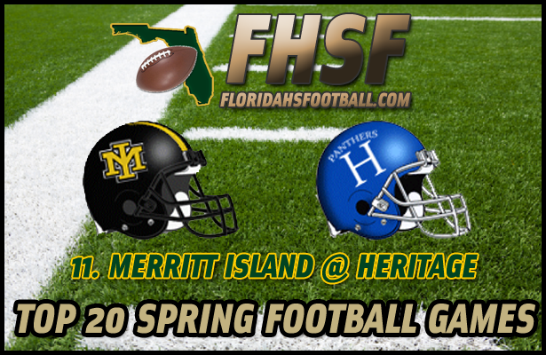TOP 20 SPRING FOOTBALL GAMES: 11. Merritt Island at Heritage