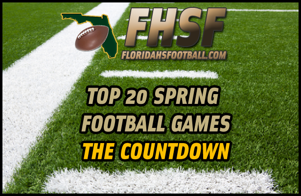 List of our Top 20 Spring Football Games for 2013