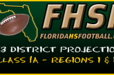 DISTRICT PROJECTIONS: Class 1A – Regions I & II