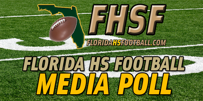 Florida HS Football Media Poll – Week 3 Rankings