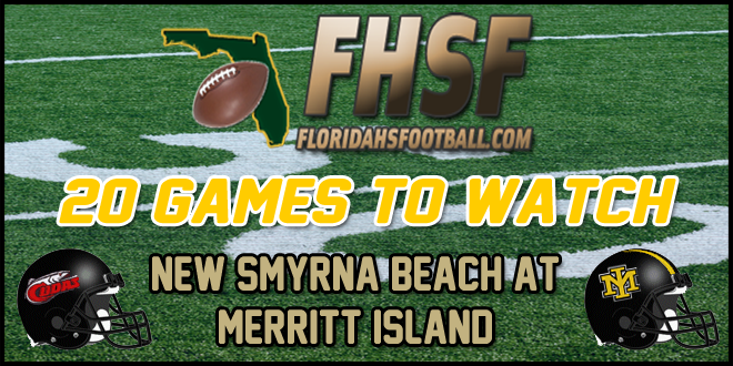 20 GAMES TO WATCH: New Smyrna Beach at Merritt Island