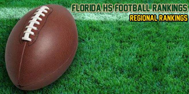 2013 Class 6A Regional Rankings – Week 4