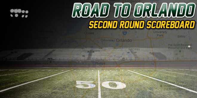 2013 FHSAA Playoffs – Second Round Scoreboard