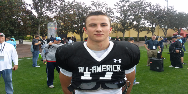 VIDEO: 2014 Under Armour All-American Dillon Bates chats with Florida HS Football on first day of practice