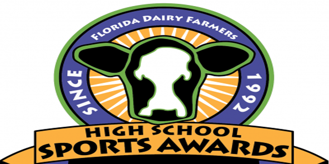 Booker T. Washington's Tim Harris, Jr. named Florida Dairy Farmers Coach of the Year