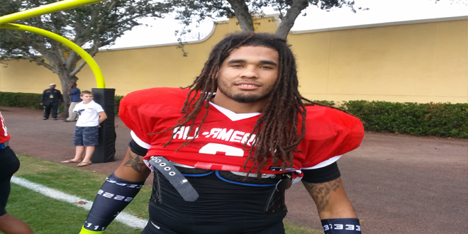 VIDEO: 2014 Under Armour All-American Kain Daub talks after first day of practice