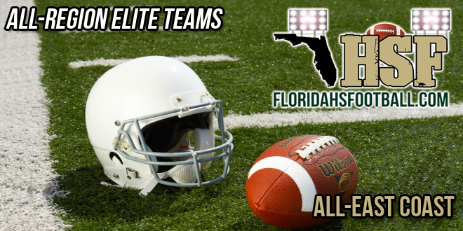 Florida HS Football's 2014-15 All-East Coast Region Elite Team