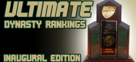 Ultimate Dynasty Rankings Nos. 26-50