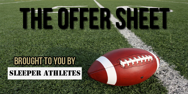 The Offer Sheet for Thursday, May 8, 2014