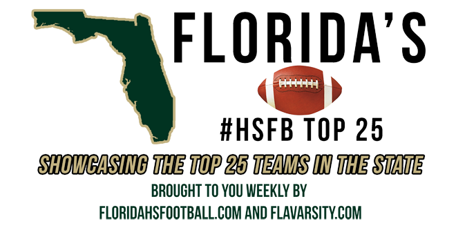 How Florida's HSFB Top 25 did during Week 3