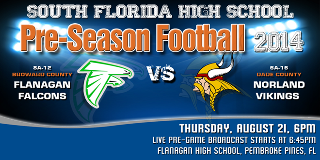 LIVE STREAM: Miami Norland vs. Flanagan