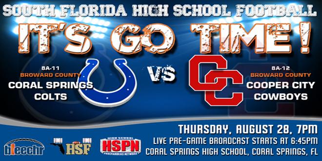 Cooper City High School Football Schedule