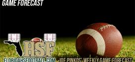 Joe Pinkos' Weekly Game Forecast – Week 2