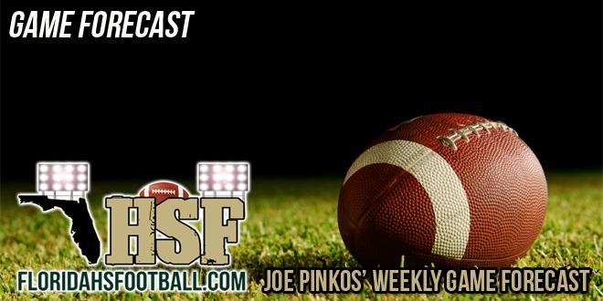 Joe Pinkos' Weekly Game Forecast – Week 6