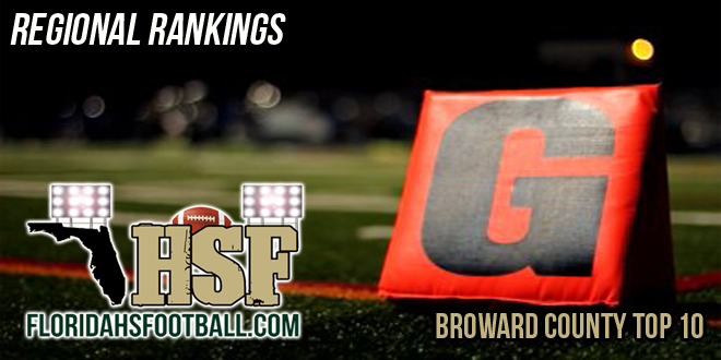 Broward County Top 10 Regional Rankings – Week 2