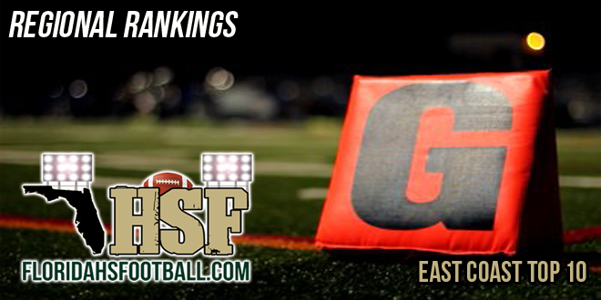 East Coast Top 10 Regional Rankings – Week 2