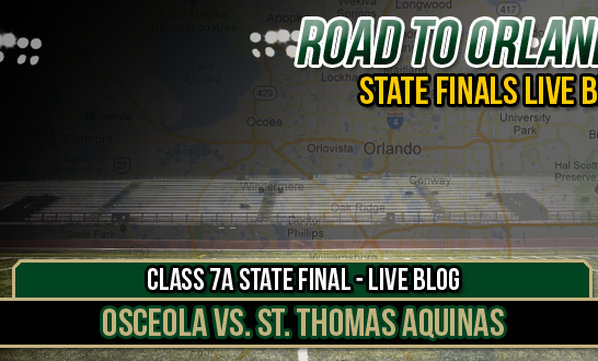 LIVE BLOG: Class 7A State Final – Osceola vs. St. Thomas Aquinas