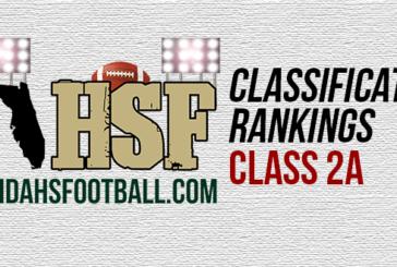 FloridaHSFootball.com's FINAL Class 2A rankings for the 2015 season