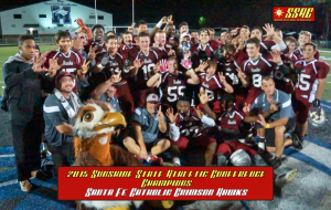 Santa Fe Catholic won the 2015 Sunshine State Athletic Conference title in December, becoming the eighth different team to win the conference title. (Photo Courtesy of the Sunshine State Athletic Conference).