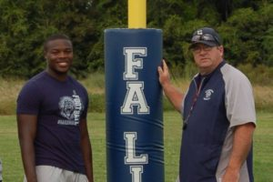 Head Coach Brad Lord (right) will look to lead Foundation Academy to another district title this season. (Photo Credit: Foundation Academy)