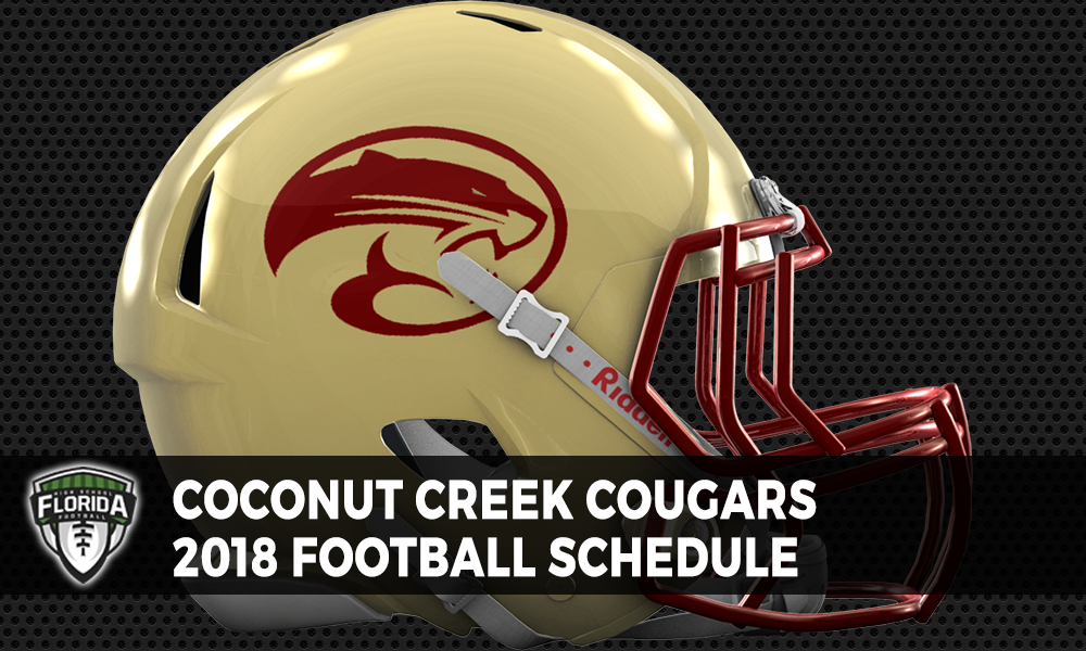 22bc5992 Coconut Creek Cougars 2018 Football Schedule | Florida HS Football