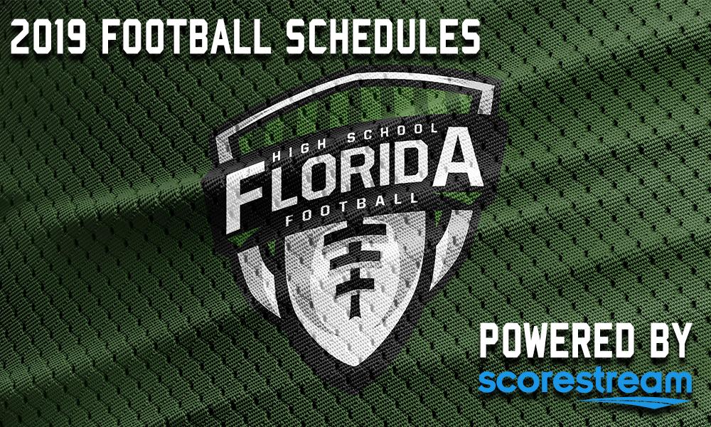 Magnificent 2019 Football Schedules Florida Hs Football Download Free Architecture Designs Scobabritishbridgeorg